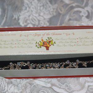 NEW 12 Days of Christmas Charm Bracelet